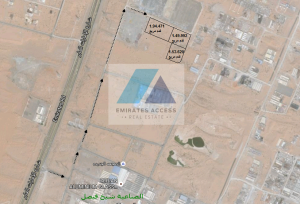 INDUSTRIAL LAND FOR SALE IN SAJJA NEAR EMIRATES ROAD