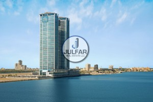 Sea View | Higher Floor | FOR RENT in Julphar Tower