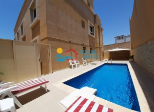 Own Pool 5 Bed Villa With Good Finishing In Khalifa City A