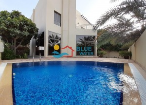 Modern 6 Bed Villa With Private Pool In Khalifa City A