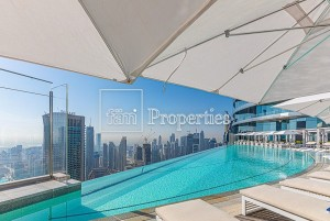 Amazing Layout, Spectacular View of Burj and Sea