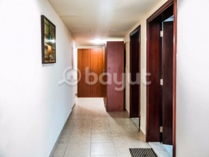 Excellent Furnished 2 Bedrooms with Spacious Balcony Overlooking Corniche - No Commission