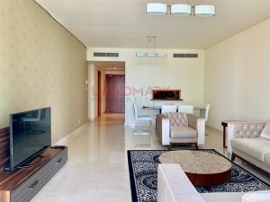 Panorama Sea View 3BR Maids Laundry Room l Access to Beach