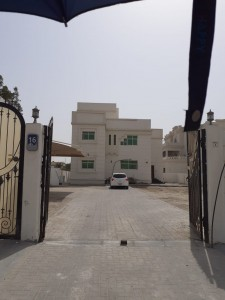 BIG STUDIO FOR RENT IN KHALIFA CITY A 28K YEARLY!!