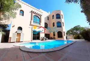 Lovely Pool+Garden Independent 5 Master Bed Villa In Khalifa City A