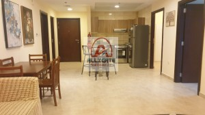 Brand New Studio| Dewa connected  with huge balcony in Living Legends for rent