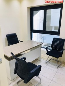 SAVE HUGE RENTAL COST. Furnished Offices  with Free Electricity