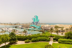 Large  Terrace 1BR Marina Lagoon View
