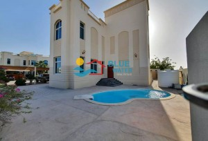 Family Compound Beautiful Landscape 4 Bed With Private Pool In Khalifa City A