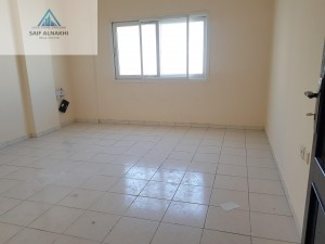 Front of Road Luxury 1bhk Apartment With Central Ac Just 17k In Muwaileh Sharjah